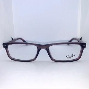Ray-Ban Shiny Opal Brown Eyeglasses